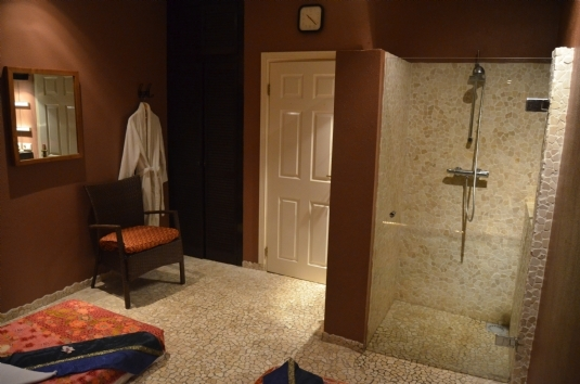 Zimmer 'Chiang Mai' Mandarin Spa Nimwegen, Niederlande.