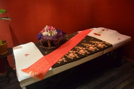 Massageraum 'Peking' Mandarin Spa Nimwegen, Niederlande
