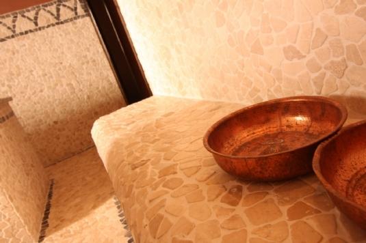 Hammam Zimmer 'Istanbul' Mandarin Spa Uden, Niederlande.