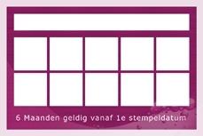 Kundensparkarte Mandarin Spa Niederlande.